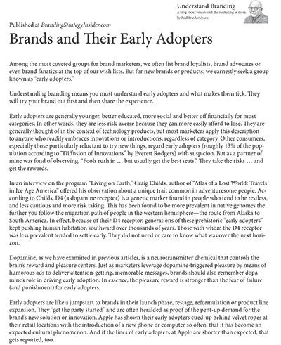 Understanding Branding